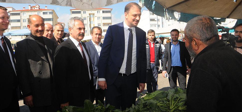 Gençlik ve Spor Bakan Yardımcısı Sinan Aksu Karabük'te