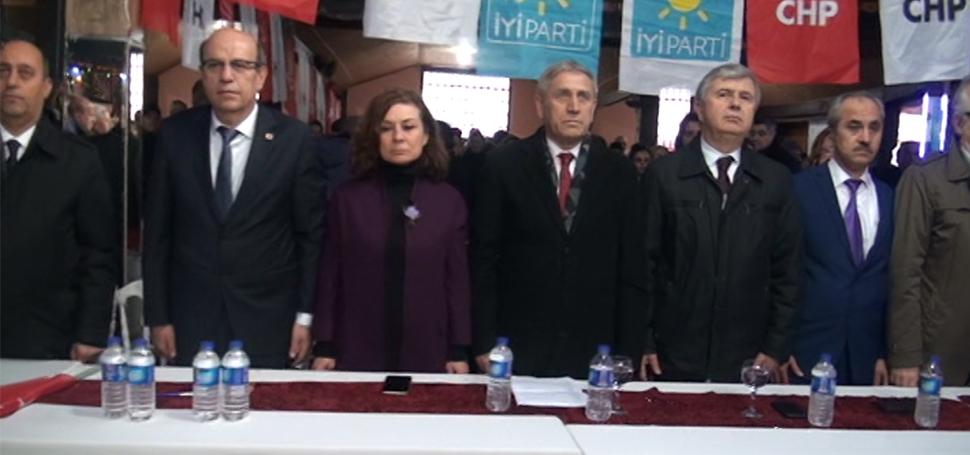 YENİCE CHP'DE COŞKULU ADAY TANITIM TOPLANTISI