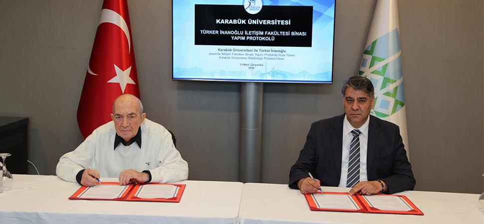 Türker İnanoğlu İletişim Fakültesi'nin yapımına başlanıyor