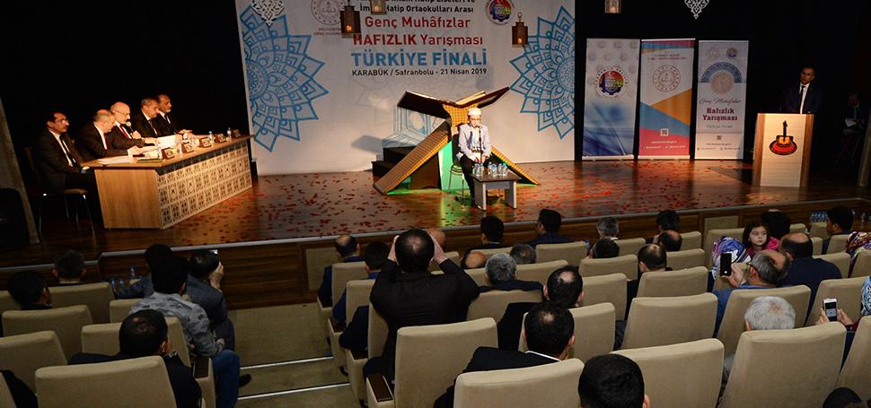Türkiye Hafızlık Yarışması'nın finali yapıldı