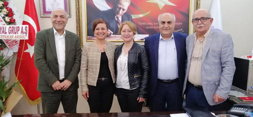 BRTV Yöneticilerinden Başkan Köse'ye Hayırlı Olsun Ziyareti