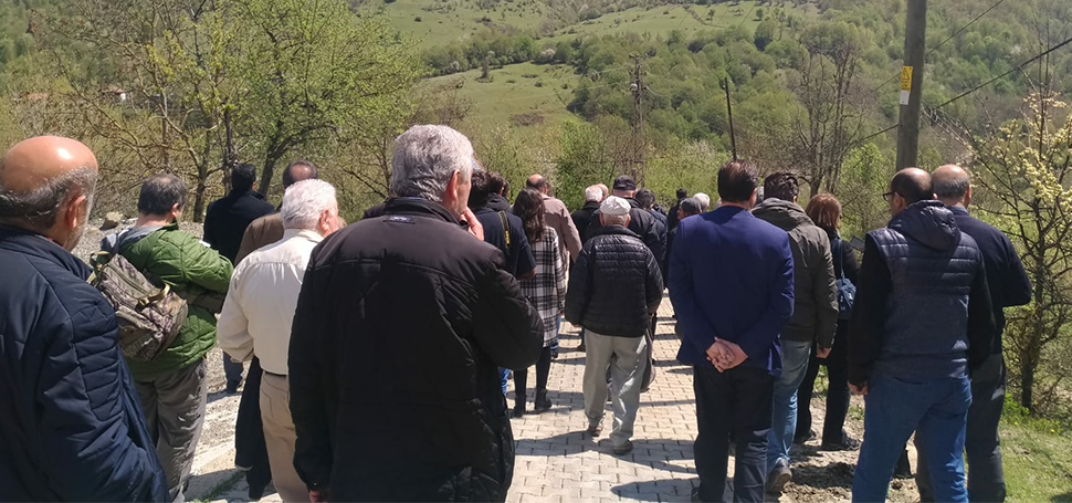 ŞEKER KANYONU'NDA KEŞİF GEZİSİ YAPILDI