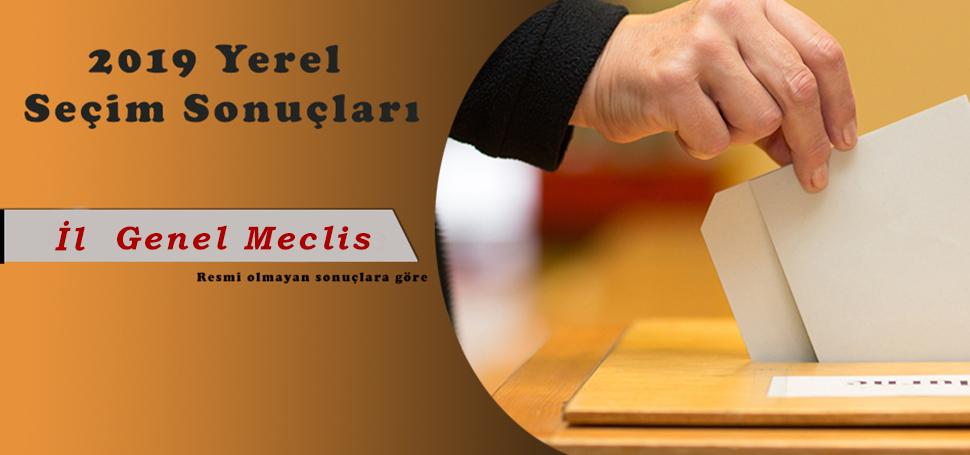 İL GENEL MECLİS ÜYELERİ BELLİ OLDU