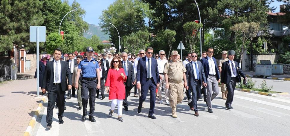"""Safranbolu'da """"Gençlik Yürüyüşü"""""""