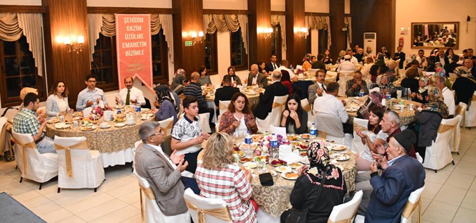 Vali Gürel, Safranbolu'da Şehit ve Gazi Aileleri ile iftarda bir araya geldi