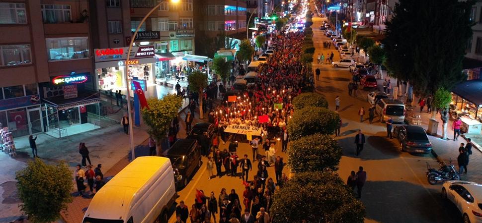 Safranbolu'da 19 Mayıs Coşkuyla Kutlandı