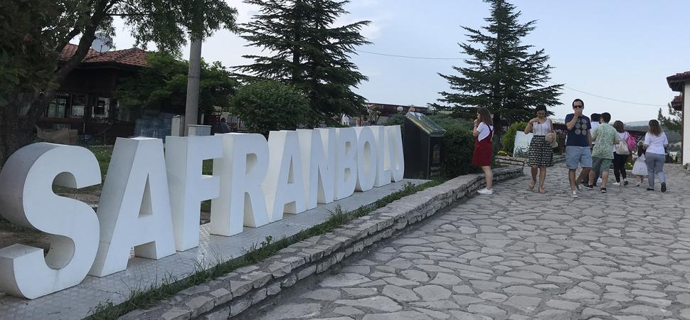 Safranbolu'da bayram yoğunluğu
