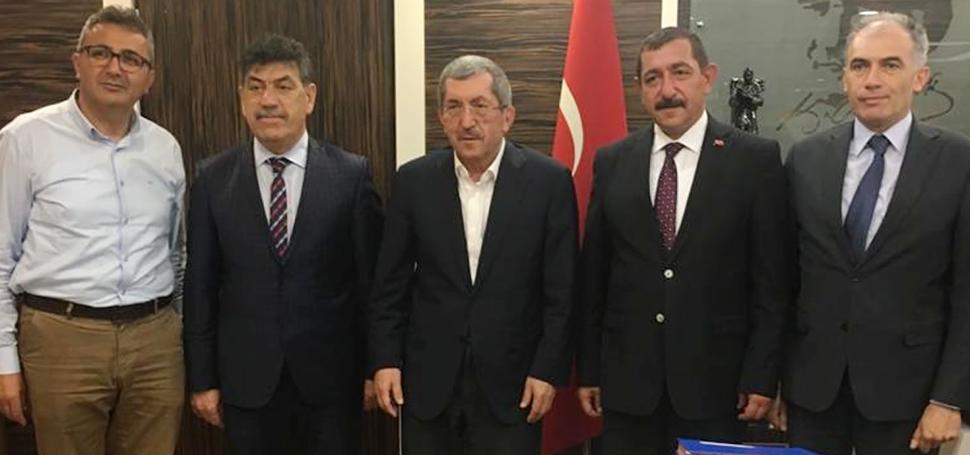 Vergili´den Kastamonu Belediye Başkanı Vidinlioğlu'na Ziyaret