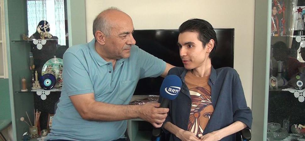 Abdullah Alp Göyneksiz kendisine destek veren herkese teşekkür etti
