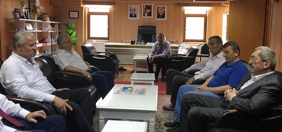 Başkan Vergili'den Yenice Belediye Başkanı Çaylı'ya Ziyaret
