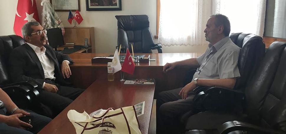 Başkan Vergili'den Yortan Belediye Başkanı Ali Şık'a Ziyaret