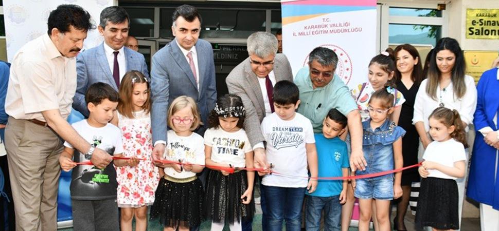 Okul Öncesi Öğretmenleri Materyal Tasarımı Proje Sergisi açıldı