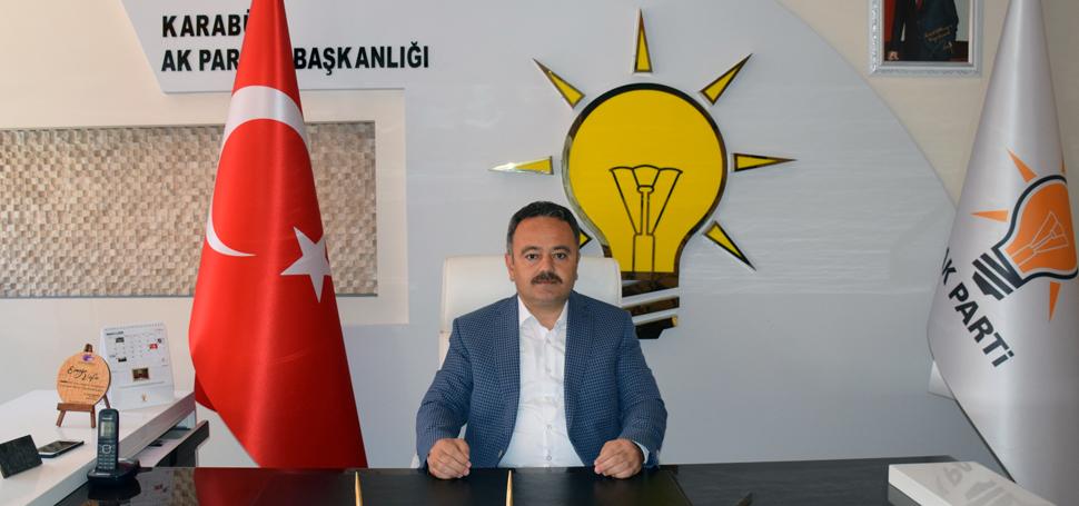 İsmail Altınöz'den AK Parti'nin 18. kuruluş yıl dönümü mesajı