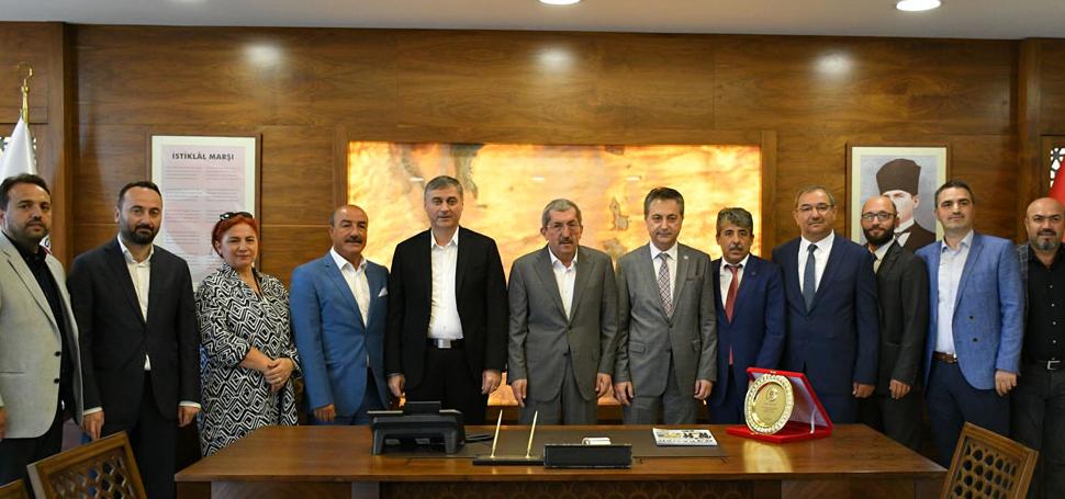 Kastamonu Sanayici ve İşadamları Derneği'nden Başkan Vergili'ye Ziyaret