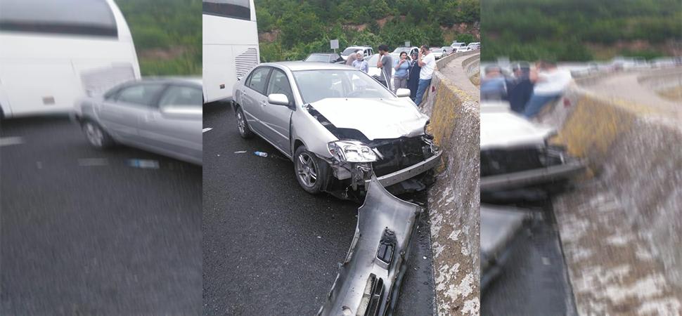 Karabük'te trafik kazaları: 9 yaralı