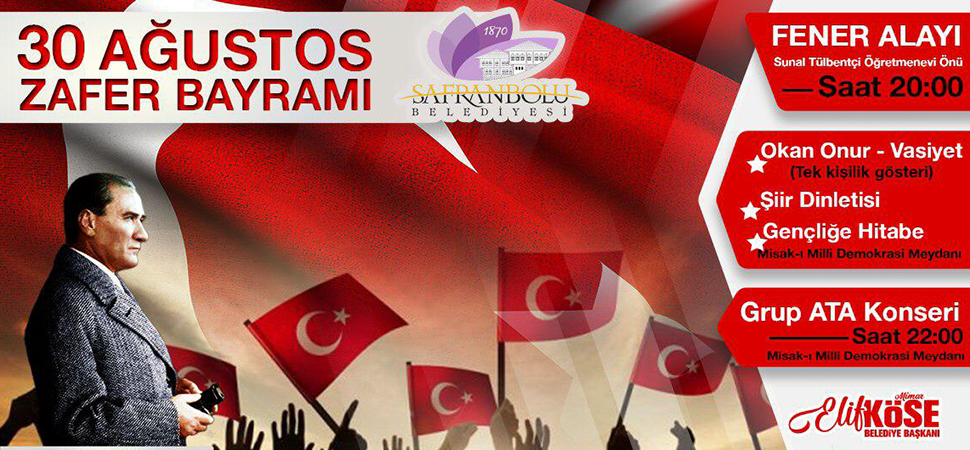 30 Ağustos Hazırlıkları Safranbolu'da Tamamlandı
