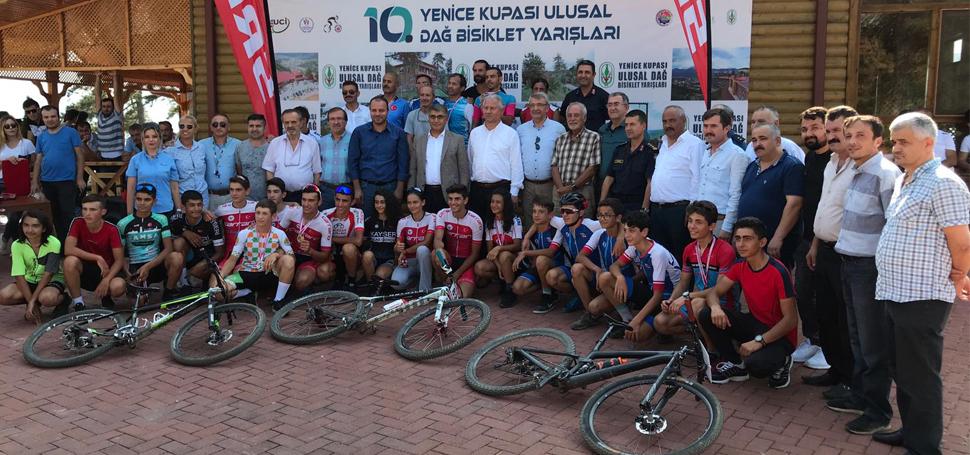 10. Ulusal Dağ Bisikleti Yarışları Yapıldı