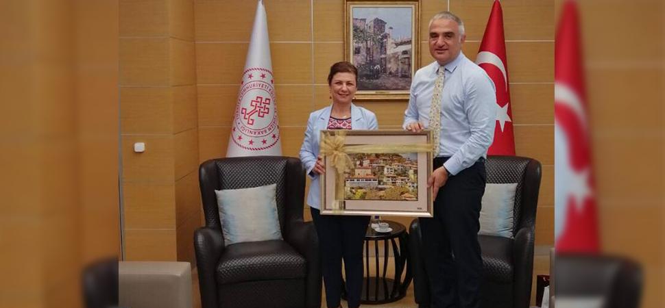 Köse, Kültür ve Turizm Bakanı Mehmet Nuri Ersoy'u Ziyaret Etti