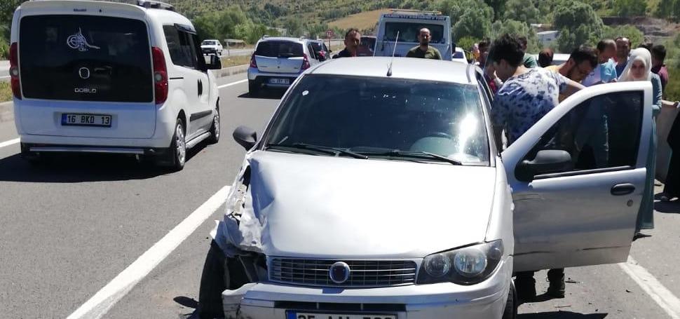 Karabük'te trafik kazası: 15 yaralı