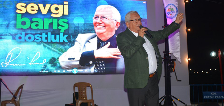 KDZ. Ereğli Belediye Başkanı Halil Posbıyık'tan ERDEMİR'E sert tepki