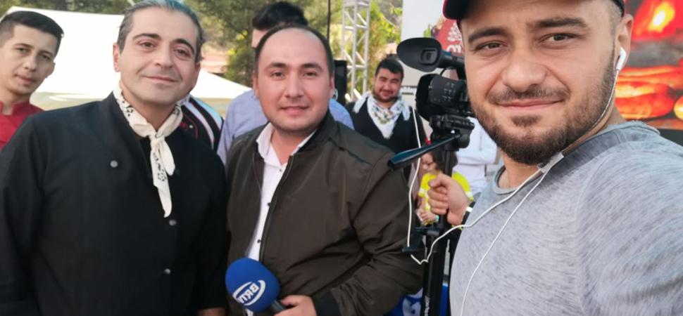 Dünyaca ünlü şef Hazer Amani KastroFest'te acem pilavı yaptı