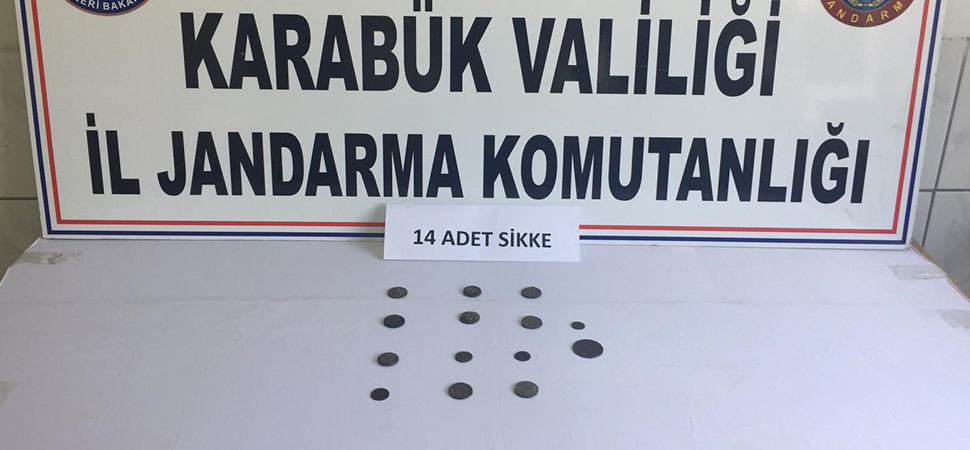 KARABÜK'TE TARİHİ ESER OPERASYONU