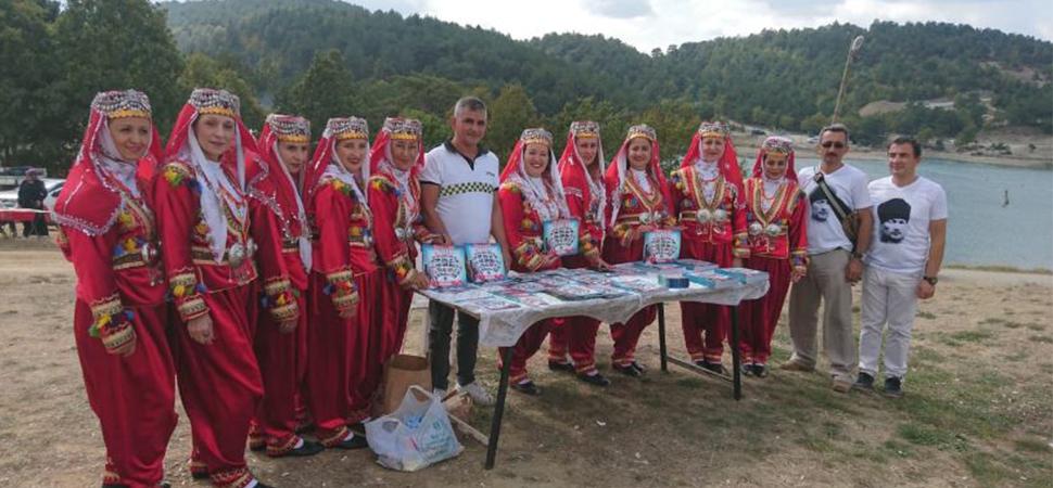 Çaycuma Belediyesi festivale renk kattı