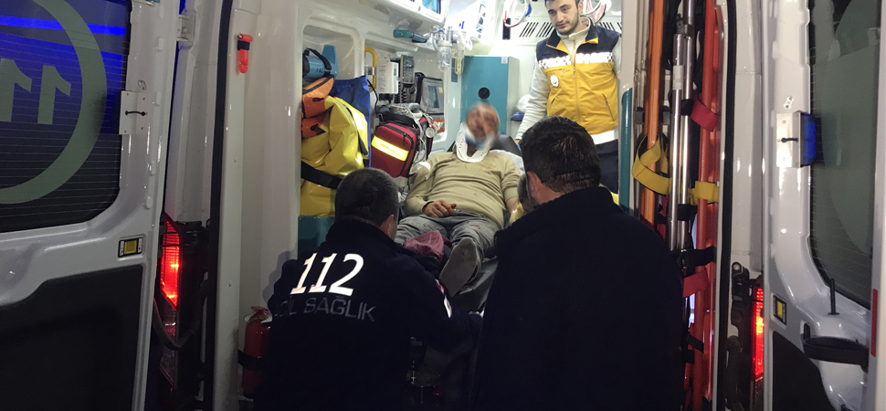 Keserle iki kişiyi yaralayan şüpheli gözaltına alındı