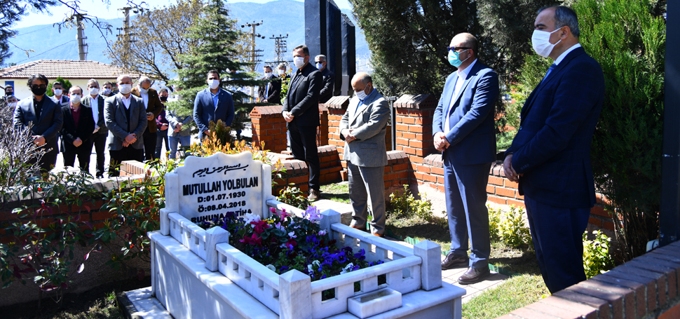 Mutullah Yolbulan ölümünün 2. Yılında mezarı başında anıldı