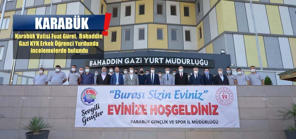 Vali Gürel, öğrenci yurdunu inceledi « BRTV