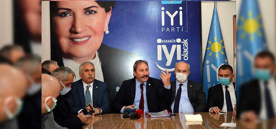 İYİ Partili Akalın Karabük'te fezlekelere ilişkin konuştu