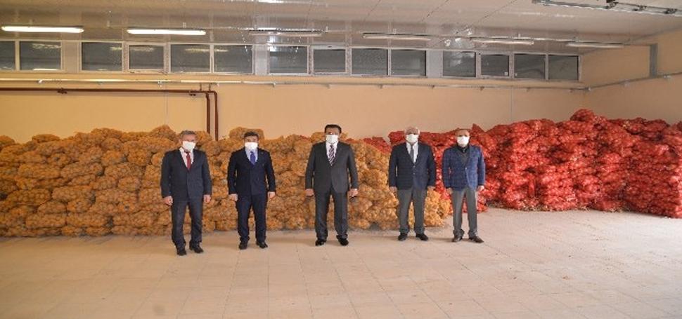 Bolu'da, 500 ton patates ve 100 ton soğan dağıtılacak