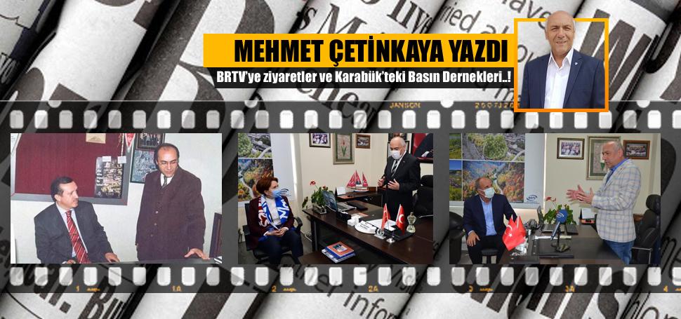 BRTV'ye ziyaretler ve Karabük'teki Basın Dernekleri..!