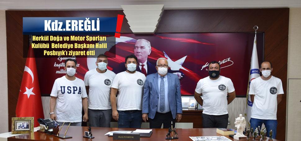 Herkül Kulübü'nden Başkan Posbıyık'a Ziyaret