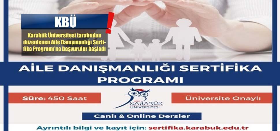 KBÜ'den Aile Danışmanlığı eğitimi