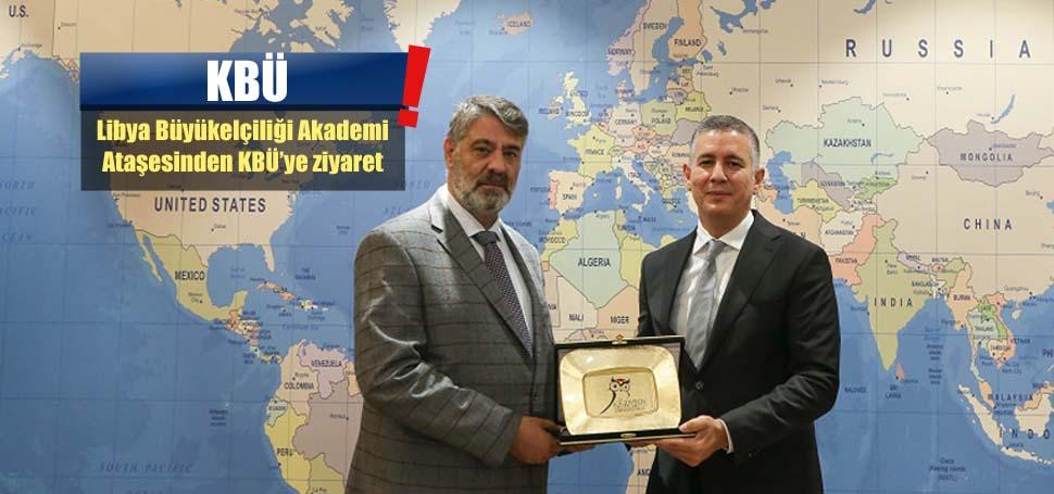 Libya Büyükelçiliği'nden KBÜ'ye ziyaret